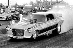 A nostalgic look back at drag racing funny cars from the Funny Car Drag Racing, Funny Cars, Car Humor, Race Cars, Vehicles, Vintage, Drag Race Cars, Cars, Vehicle