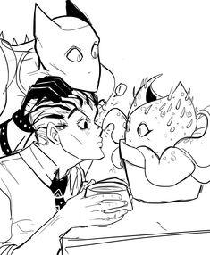 Kira, Killer Queen and Stray cat :3