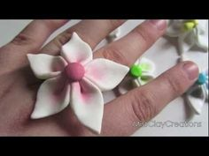 Easy peasy way to make flowers from polymer clay!  Be my friend on Facebook & find out FIRST when my new videos are up:  https://www.facebook.com/MissClayCreations  Hope you liked this tutorial  -MissClayCreations  (。◕‿◕。)