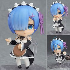 14.02$  Watch now - http://alin30.shopchina.info/go.php?t=32794080206 - Re:Life In A Different World From Zero Action Figure 663# Nendoroid Rem Doll PVC Action Figure Collectible Model Toy 10cm KT3515 14.02$ #SHOPPING