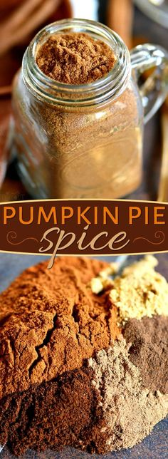 HOMEMADE PUMPKIN PIE SPICE RECIPE that you'll be using all season long! A perfect blend of spices that adds delicious flavor to pies, cakes, cookies, breads, muffins and so much more! Ready to go in just minutes! // Mom On Timeout Homemade Pumpkin Pie Spice Recipe, Classic Pumpkin Pie Recipe, Perfect Pumpkin Pie, Easy Pumpkin Pie, Homemade Spices, Homemade Seasonings, Pumpkin Pie Recipes, Pumpkin Spice, Recipe Spice