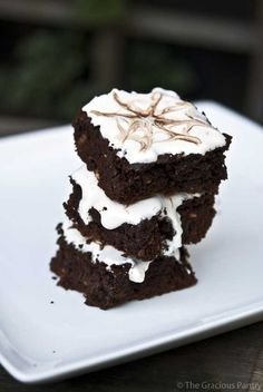 Clean Eating Brownies