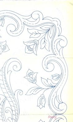 Cutwork Embroidery, Embroidery Patterns, Tablecloths, Fabric Painting, Pewter, Diy Crafts, Black And White, Sewing, Vintage