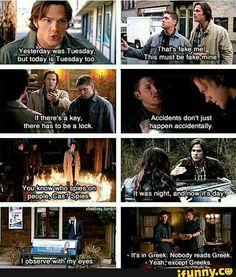Supernatural logic