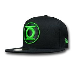 save off bfe86 c628c Green Lantern Symbol Black 9Fifty Cap
