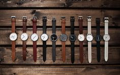 Watches from Uniform Wares Uniform Wares, Moda Blog, Shops, Watches For Men, Simple Watches, Men's Watches, Nice Watches, Vintage Watches, Wrist Watches