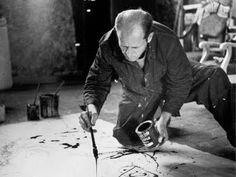 Jackson Pollock Drip Painting For Kids