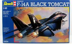 F-14A Black Tomcat Revell #04514 1/48 New Military Aircraft – Shore Line Hobby