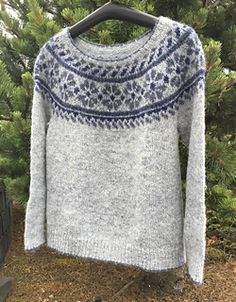Ravelry: skosola's Snowflower Pullover Sweaters, Men Sweater, Knit Sweaters, Chrochet, Knit Crochet, What A Girl Wants, Apres Ski, How To Purl Knit, Fair Isle Knitting