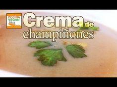 Este Lunes te mostramos cómo preparar una crema de champiñones vegana. Crema de champiñones Ingredientes: - 2 dientes de ajo - Perejil - Cebolla - Sal - Nuez...