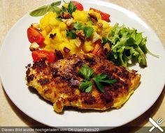 Miris feine Cordon bleu Cordon Bleu, Vegetable Pizza, Steak, Chicken, Vegetables, Food, Food Portions, Cooking, Essen