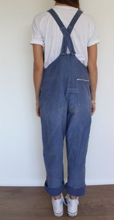 Image of French Workwear Dungarees