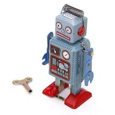 Wind Up Robots will be arriving at our office soon. #robot #creative #enviroment