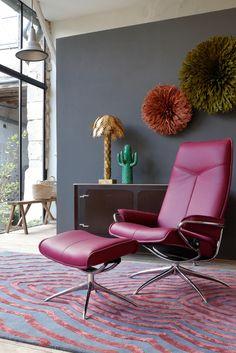 #stressless #sessel #lila #flieder #pastell #wohnen #interior #einrichten |  Wohnen In Pastelltönen | Pinterest