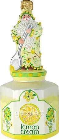 Loving Spoonful (Lemon Cream) Patricia Breen Designs (Enamel, Flowers, Fruit, Yellow, Spring)