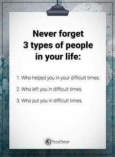 This is so true!!!! Thankful 2 and 3 are no longer factors in my life.  Learned valuable lessons though and I am grateful for that.