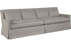 """Lee Sofa Option 1- FRONT LEFT- Pending Cistom Seat Height...as is 18"""".  $2150.40 net/ 16 yards single COM"""
