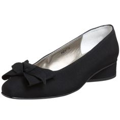 $72.95-$72.95 Ros Hommerson Women's Dip Bow Dress Pump,Black Micro,7.5 S US - Tempt yourself with the lovely tailored Ros Hommerson Dip slip-ons.  Microtouch fabric upper in a slip-on casual style with a tapered squared toe.  Feminine bow adds sweet detail at vamp.  Leather lining and cushioned insole. 1 inch heel. http://www.amazon.com/dp/B0012YQA3E/?tag=icypnt-20
