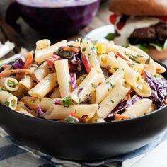Check out this recipe: Asian Pasta Salad