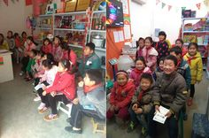 Shangzhou is the pioneer at Internet education area.The kids are learning English on the Internet.Which is a more convenient way for them.3