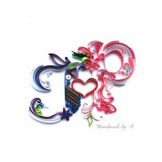 Quilled Love