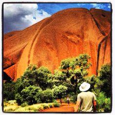 Uluru, the world's largest monolith. Northern territory, Australia.