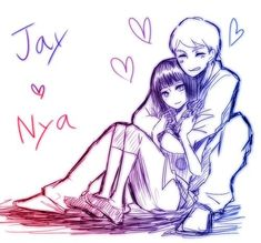JayxNya - love them together! WHY DID THE PRODUCERS MAKE NYA X COLE?!?! WHY?!?!?! <-- Cole and Nya will never happen!! Not while I'm alive!