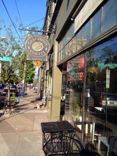It's not  Portland neighborhood without a great coffee shop