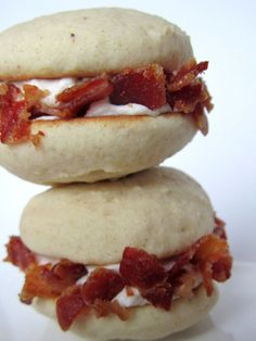 For your viewing pleasure, The Bacon Maple Whoopie Pie