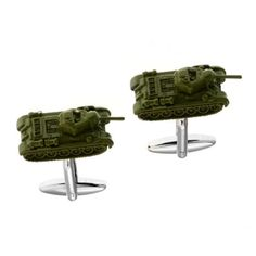 Tank Cufflinks in the Armed Forces Related cufflink category. Gorgeous and full of detail. Free Black, Metal Casting, Armed Forces, 50th, Cufflinks, Army, Club, Detail, Gifts