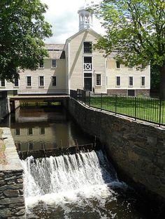 Slater Mill - Pawtucket, Rhode Island   #VisitRhodeIsland