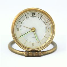 Gold Grandpa Clock