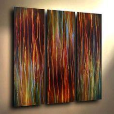 Abstract Painting Modern Art Contemporary Decor Michael Lang Certified Original | eBay