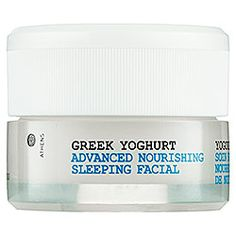 Korres - Greek Yoghurt Advanced Nourishing Sleeping Facial  #sephora :: i have been trying this over the past three weeks, and i think i love this more than putting on a lotion my face at night.  it moisturizes without being greasy, it smells amazing, and you wake up looking like you've got the best sleep of your life.