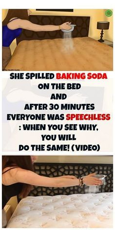 #bakingsoda #bed #diy #cleaning #bedroom