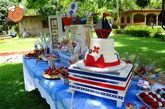 Barra de postres  #nautica #postres #mesa #dulces #puertovallarta  loschatos.com