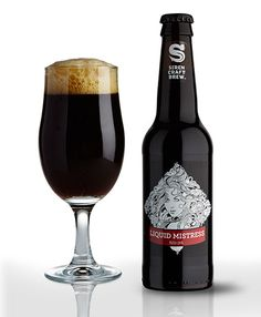 Liquid Mistress (red IPA) Siren, England. Craft beer