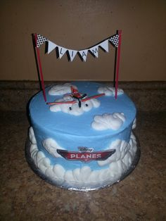 Dusty crophopper! Planes birthday cake