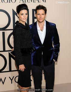 Jaimie Alexander ( Giorgio Armani new york #fashion show)  See more http://www.icelebz.com/events/giorgio_armani_new_york_fashion_show/