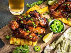Hawaiian Huli Huli Grilled Chicken Wings Recipe   Serious Eats