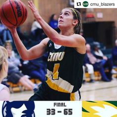 @cmu_blazers Women's Basketball with a win 65-33 win over the Providence Pilots in MCAC action. Rhianna Nelson led the way offensively with 20 points. The next home action for Women's Basketball is next Tuesday when CMU hosts the University of Winnipeg College Wesmen