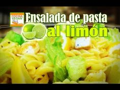 Ensalada de pasta al limón - Cocina Vegan Fácil