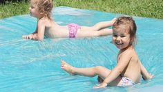 super Anleitung für Wasser Sitzsack, Folien Pool
