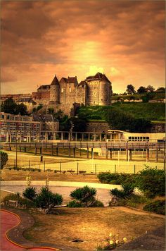 Castle of Dieppe, Upper Normandy, France
