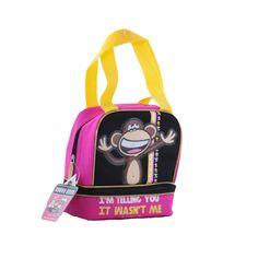 Superbe sac à goûter isotherme pour enfant - Sac à main pour maman - Illustration du singe Bobby Jack - Un sac femme orginal pas cher sur La Maison Tendance  http://www.lamaisontendance.fr/catalogue/sac-gouter-isotherme-singe/