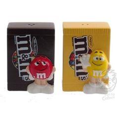 M&M #salt and pepper #shaker