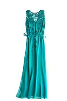 Bobbi Silk Maxi Dress