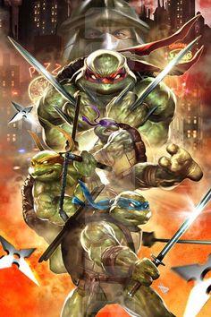 Teenage Mutant Ninja Turtles by Dave Wilkins