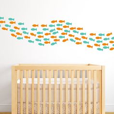 Hey, I found this really awesome Etsy listing at https://www.etsy.com/listing/197959724/school-of-fish-wall-decals-fish-decals