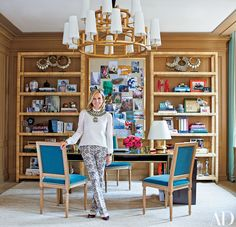 Step Inside Tory Burch's Refined Manhattan Office